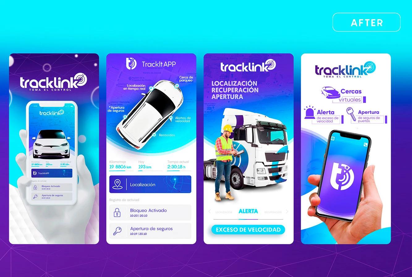 Tracklink Centrico Digital Branding